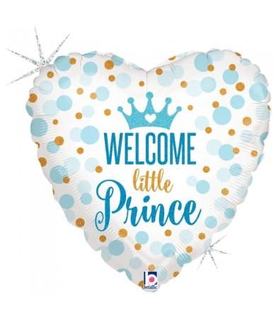 "36712P Glitter Baby Prince (18"")"