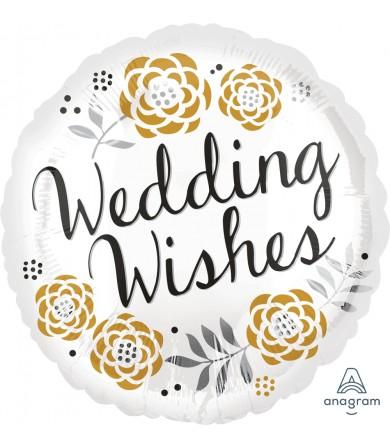 """32125 Wedding Congratulations (18"""")"""