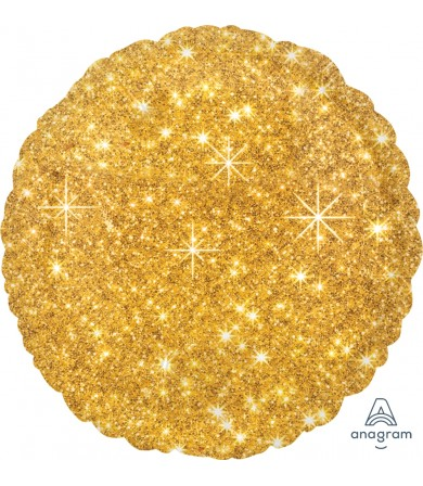 "32653 Faux Sparkle Gold (18"")"