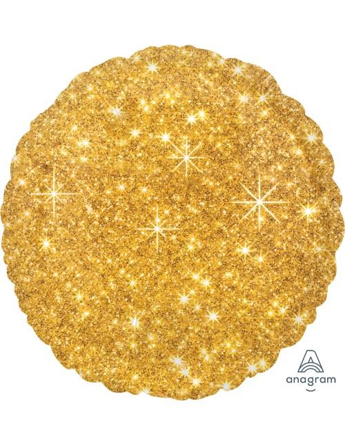 """32653 Faux Sparkle Gold (18"""")"""
