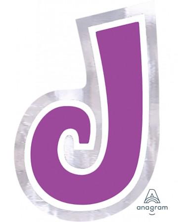 07086 Letter `J`