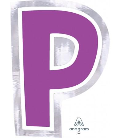 07092 Letter `P`