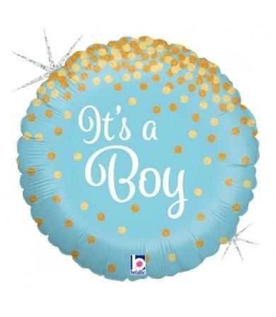 36587P Glittering It's A Boy