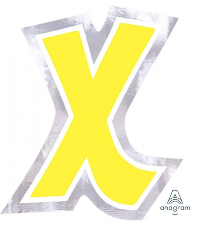 07100 Letter `X`
