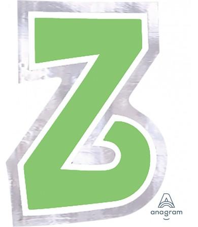 07102 Letter `Z`