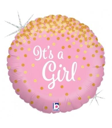 36586P Glittering It's A Girl