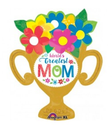 32363 Greatest Mom Trophy Cup - SuperShape