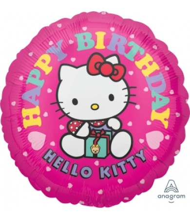 "02510 Hello Kitty Birthday (18"")"