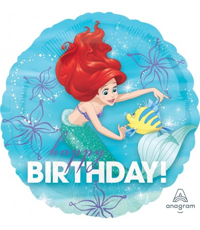 "33935 Ariel Dream Big Happy Birthday (18"")"
