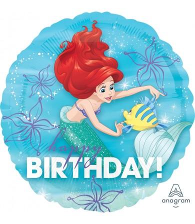 """33935 Ariel Dream Big Happy Birthday (18"""")"""