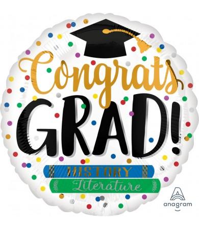 """39348 Congrats Grad Books (18"""")"""