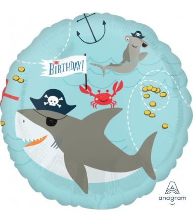 "38484 Ahoy Birthday (18"")"