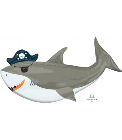 38482 Ahoy Birthday Shark - SuperShape