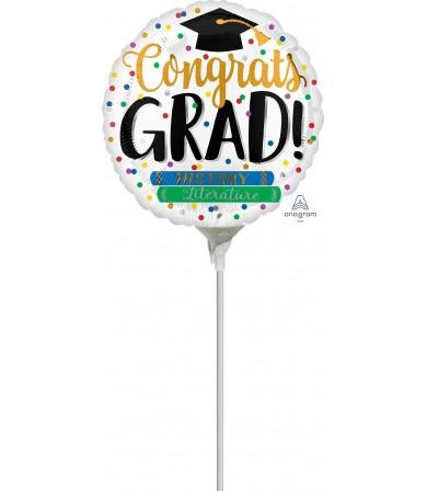"""39375 Congrats Grad Books (4"""")"""