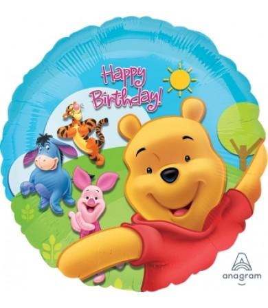 """15749 Pooh & Friends Sunny Birthday (18"""")"""