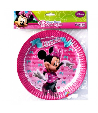 Minnie Mouse Plate 23cm - 068967