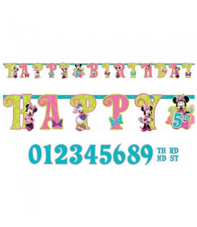 Minnie Mouse Add An Age Banner - 126597