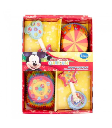 Mickey Mouse Cupcake Kit - 069919