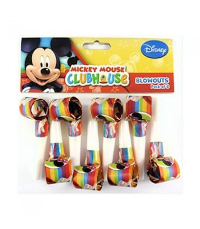 Mickey Mouse Blow-Outs - 068431