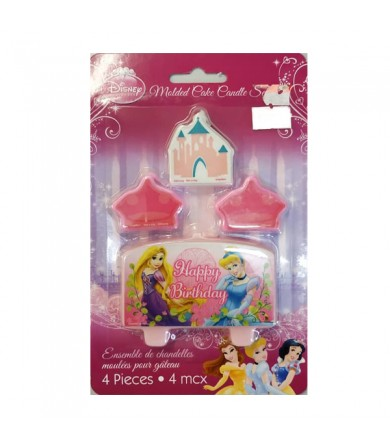 Princess Molded Happy Birthday Candle - 170045