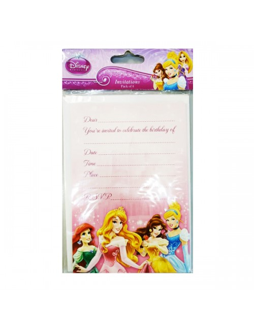 Princess Invitations Card - 070311