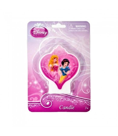 Princess Flat Candle - 070380