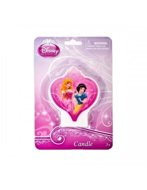 Princess Flat Candle - 070380