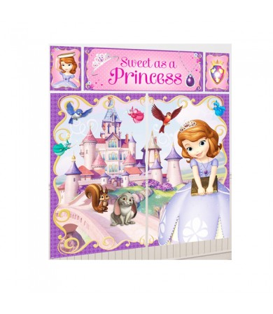 Sofia The First Happy Birthday Scene Setter - 671351