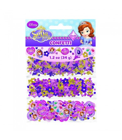 Sofia The First Value Confetti - 361351