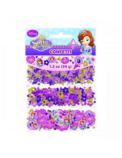Sofia The First Value Confetti - 361351