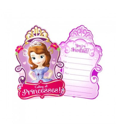 Sofia The First Invitations Card - 491351