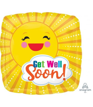"39638 Get Well Sunbeam (18"")"