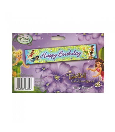 Disney Fairies Tinkerbell Happy Birthday Banner - 068356