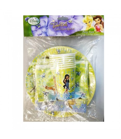 Disney Fairies Tinkerbell Party Pack - 068011