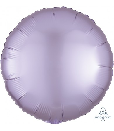 "39904 Satin Luxe™ Pastel Lilac Circle (18"")"