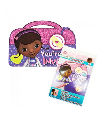 Doc Mcstuffins Invitation Card - 491352