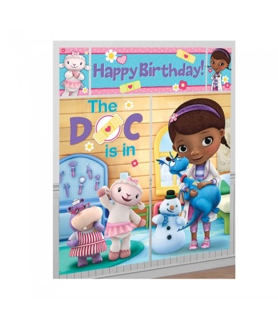 Doc Mcstuffins Happy Birthday Scene Setter - 671352