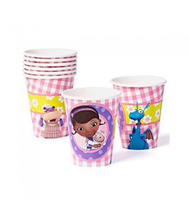 Doc Mcstuffins Cups 266ml - 581352
