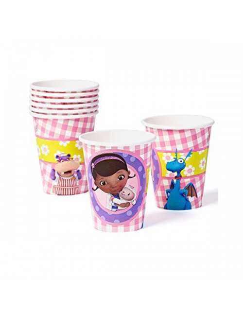 Doc Mcstuffins Cups 266ml - 581352