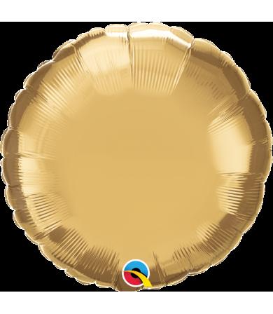 "89534 Chrome™ Gold Round (18"")"