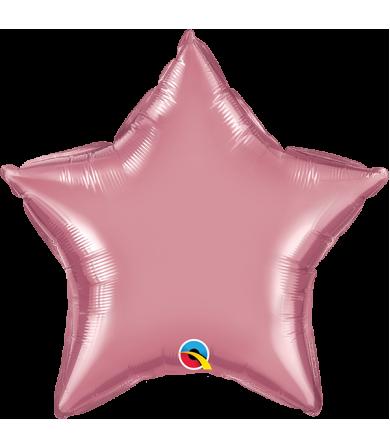 "Q89659 Chrome™ Mauve Star (20"")"