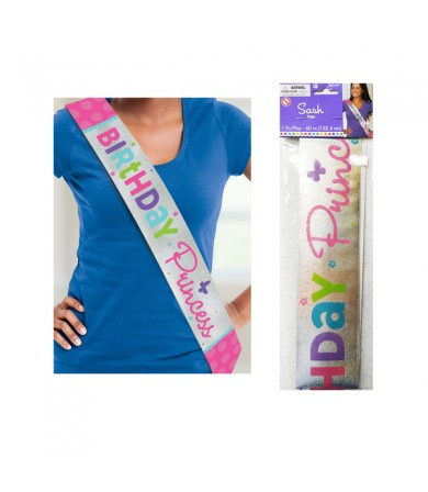 Sash - Birthday Princess 340065