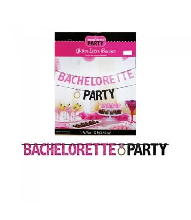 Letter Banner - Glitter Bachelorette Party 210371