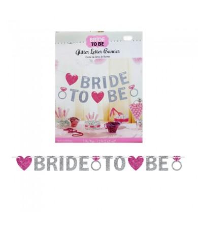 Letter Banner - Glitter Bride To Be 210372