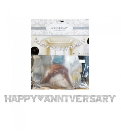 Letter Banner - Happy Anniversary 122592
