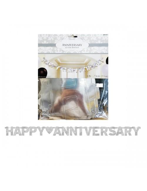 Letter Banner - Happy Anniversary 122592