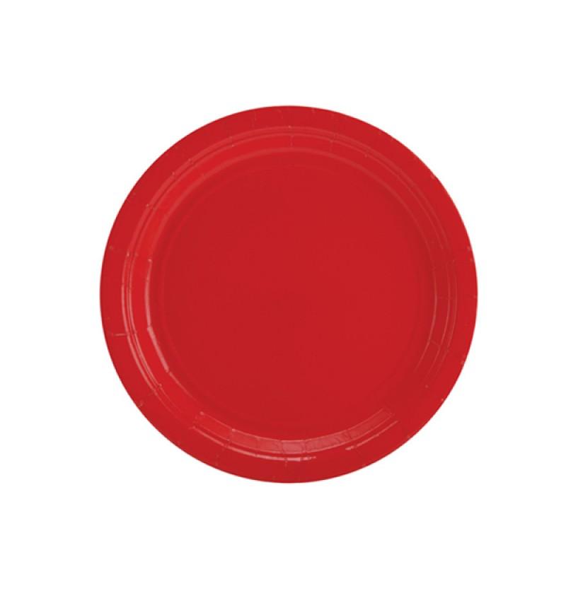 Plastic Plate 17.7cm