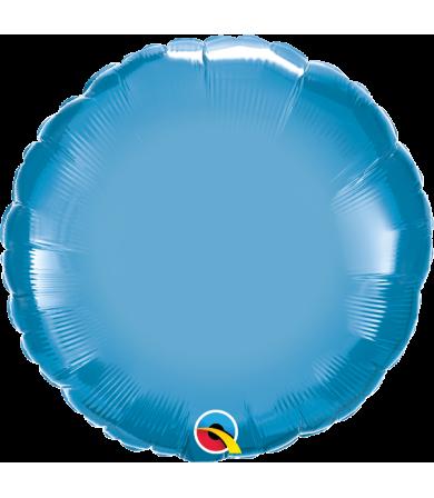 """89541 Chrome™ Blue Round (18"""")"""