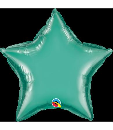 "Q89721 Chrome™ Green Star (20"")"