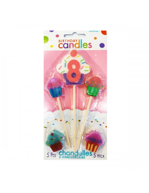Candle - Number & Cupcakes